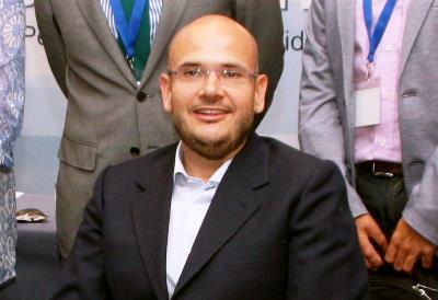 Anxo Antón Queiruga Vila, presidente de Cocemfe