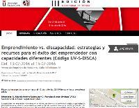 IV seminario sobre el emprendimiento y discapacidad de la Universidad de Verano de la URJC