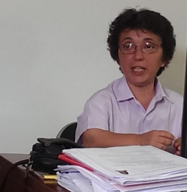 Mª Jesús Pérez, presidenta de Luna Almería