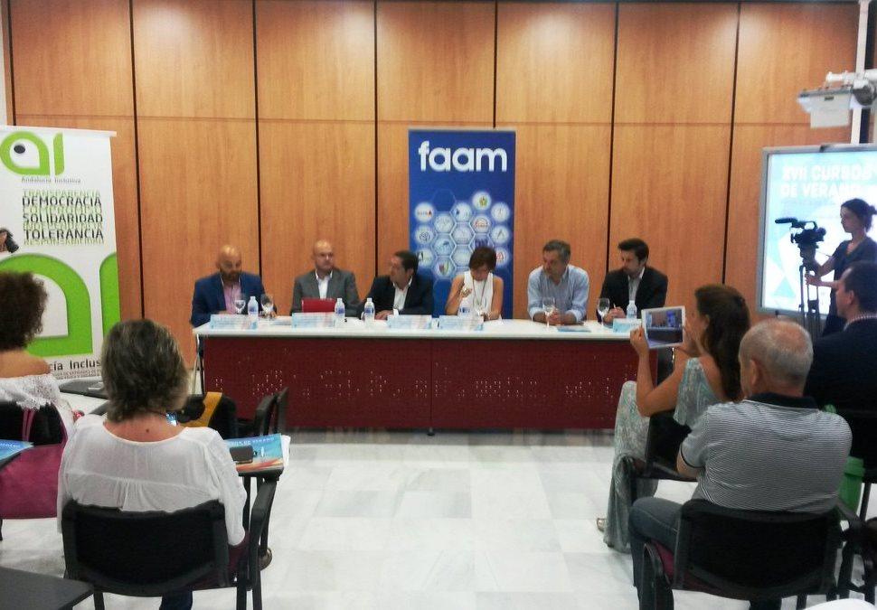 Curso de verano organizado por la Universidad de Almería y la FAAM