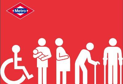 Detalle de la portada del Plan de Accesibilidad e Inclusión de Metro de Madrid