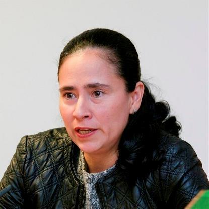 Gloria Álvarez Ramírez, patrona coordinadora de la Fundación Derecho y Discapacidad y colaboradora del CERMI