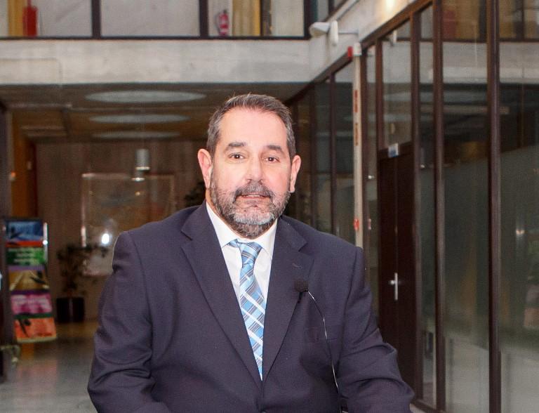 Javier Miranda, licenciado en Derecho y miembro del Comité Ejecutivo del CERMIN