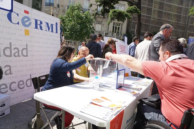 concentración del CERMI por el derecho a voto
