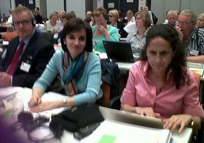 Una delegación del CERMI en la asamblea anual del EDF