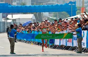 Elena Congost, oro en la Maratón