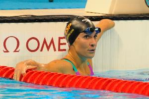 Sarai Gascón consiguió colgarse tres medallas de plata y hacerse con un diploma paralímpico en natación