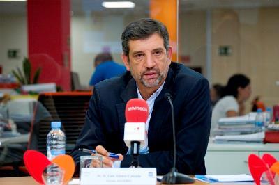 Luis Alonso, gerente del CERMI