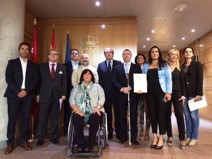 El Grupo Socialista de la Asamblea de Madrid registra una iniciativa legislativa para otorgar el voto a todas las personas con discapacidad