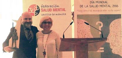 La Federación de Salud Mental de Castilla-La Mancha concede al CERMI el premio Don Quijote 2016
