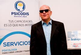 Fidel Hernández, promotor de Psicodis