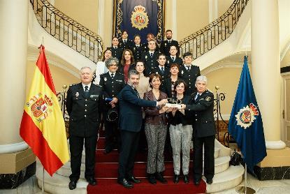 El CERMI reconoce la labor de la Policía Nacional en favor de las mujeres con discapacidad víctimas de violencia