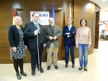 El CERMI y el Consejo Danés de la Discapacidad celebran un nuevo encuentro bilateral en Madrid