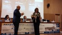 Momento de la entrega del 'Premio cermi.es 2016' al CESyA en la categoría Accesibilidad Universal-Fundación Vodafone