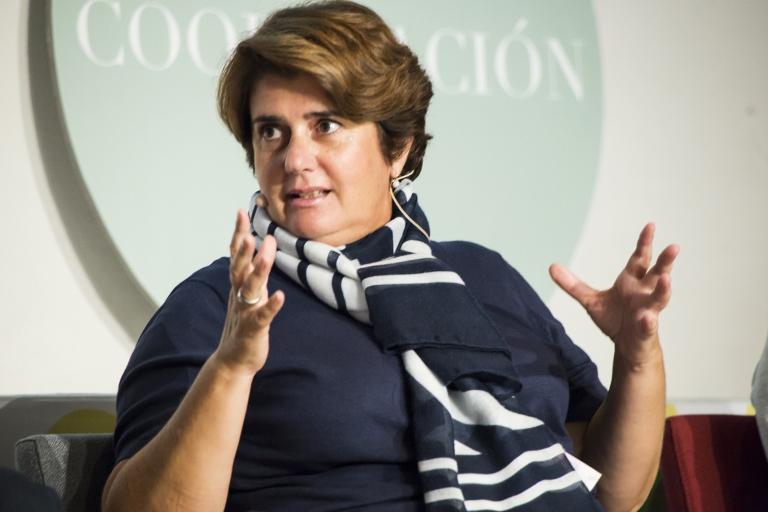 Pilar Morales, presidenta de CERMI Región de Murgia