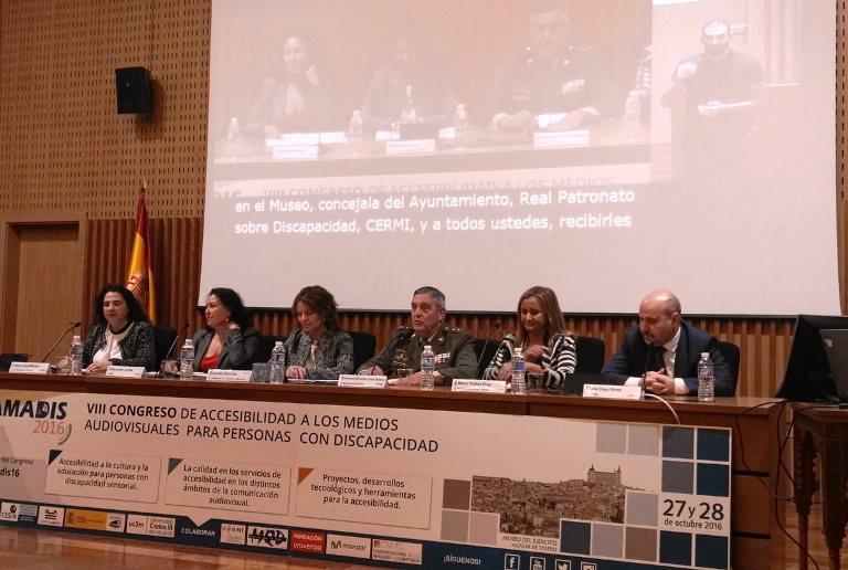 VIII Congreso de Accesibilidad a los Medios para Personas con Discapacidad (Amadis)