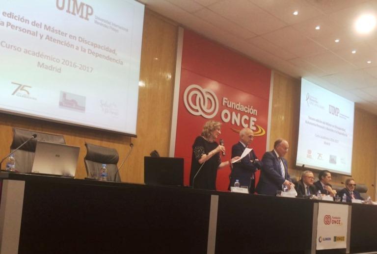 Comienza el III Máster de Discapacidad, Autonomía Personal y Dependencia de la FDYD y la UIMP