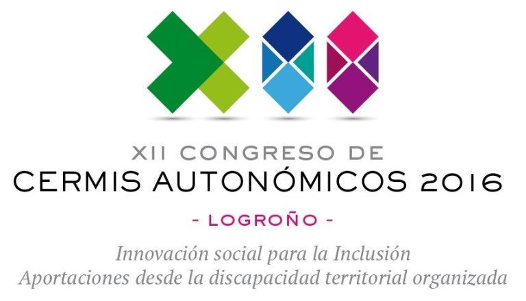 Cartel del 'XII Congreso de CERMIS Autonómicos'