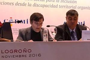 Alberto Durán, secretario general del CERMI, en el XII Congreso de CERMIS Autonómicos