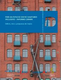 Portada de la publicación 'Por un espacio socio-sanitario inclusivo - Informe CERMIN'