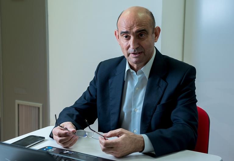 Tomás Castillo, presidente de la Plataforma de Organizaciones de Pacientes (POP)