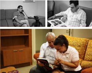 Imágenes del estudio 'Envejecimiento y Trastorno del Espectro del Autismo. Una etapa vital invisible'