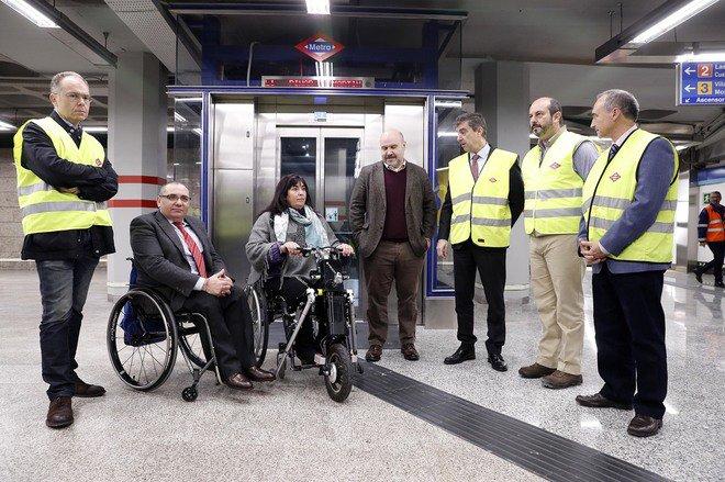 El CERMI saluda que la estación de Sol de Metro de Madrid sea ya plenamente accesible