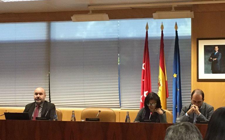 """El CERMI denuncia en la Asamblea de Madrid el """"déficit"""" en materia de derechos humanos que afecta a las personas con discapacidad"""