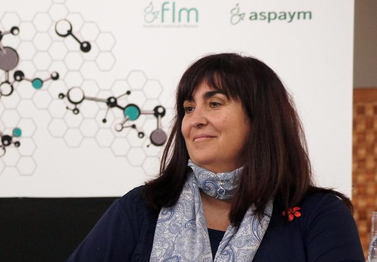 Mayte Gallego Ergueta, presidenta de CERMI Comunidad de Madrid