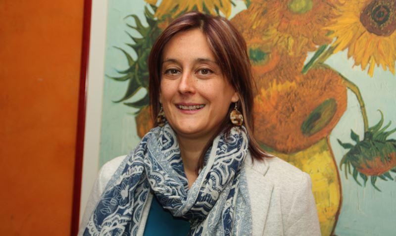 Rocío Pérez Gómez, presidenta de la Comisión de Trabajo del CERMI sobre Diversidades Sexuales (LGTBI) y Discapacidad