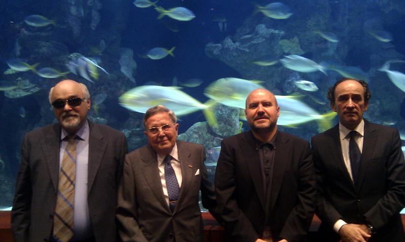 Homenaje a Alberto Arbide en el Comité Ejecutivo del EDF en San Sebastián