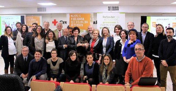 La 'Campaña X Solidaria' recibe el 'Premio cermi.es 2016' en la categoría Acción Social