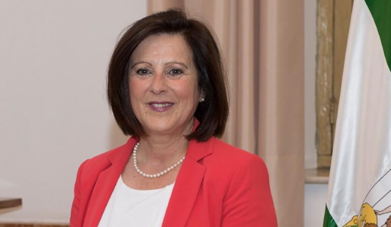 Mª José Sánchez Rubio, consejera de Igualdad y Políticas Sociales de la Junta de Andalucía