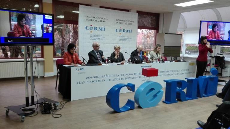 Jornadas del CERMI 2006-2016: 10 años de la Ley 39/2006, de Promoción de la Autonomía Personal y Atención a Personas en Situación de Dependencia
