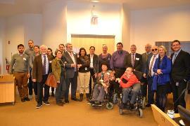 El Comité Ejecutivo del EDF discutiendo con la Comisión de Discapacidad del Parlamento Europeo las prioridades del movimiento de la discapacidad para el próximo periodo
