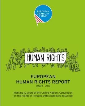 Cartel para celebrar los derechos humanos internacionalmente