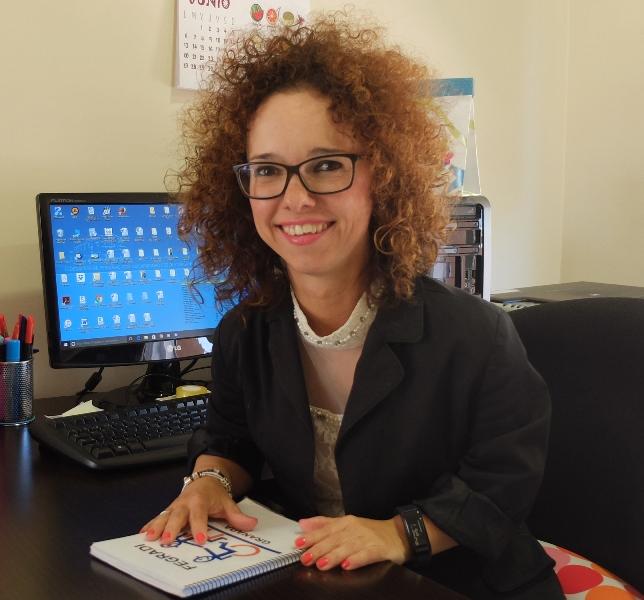 Marta Castillo. Presidenta FEGRADI