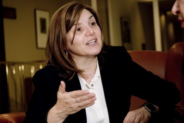 Pilar Cancela Rodríguez, presidenta de la Comisión de Igualdad del Congreso