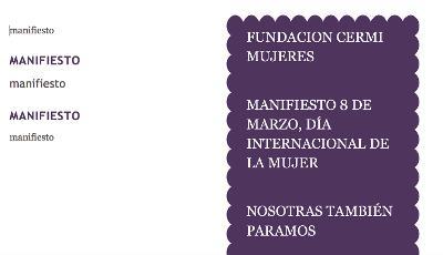 Imagen creada para el manifiesto de mujeres con discapacidad del 8 de marzo de 2017