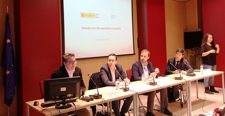 Presentación del estudio 'Jóvenes con discapacidad en España'
