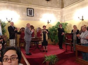 Juana Zarzuela recibe el premio cermi.es 2015 a la trayectoria asociativa