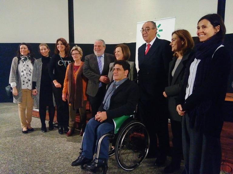 CERMI Andalucía, la Consejería de Igualdad y Políticas Sociales y la RTVA firman un convenio marco para mejorar la imagen social de las personas con discapacidad