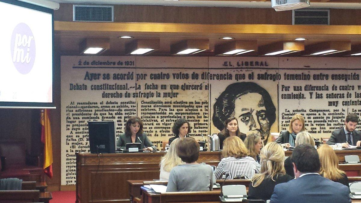La Fundación CERMI Mujeres presenta en el Senado 'Por mí', una aplicación para luchar contra la violencia machista dirigida a mujeres con discapacidad