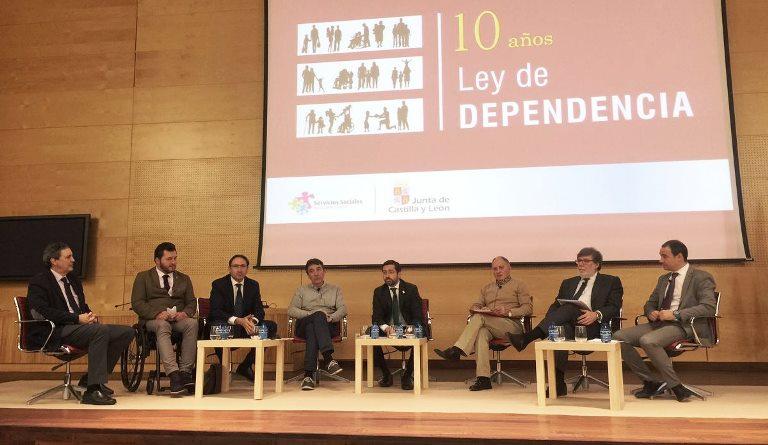 CERMI Castilla y León participa en la jornada '10 años atendiendo a la Dependencia en Castilla y León'
