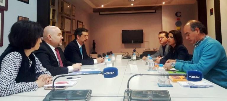 La responsable nacional de Ciudadanos en el área de Dependencia mantiene una reunión con CERMI para conocer sus principales demandas e inquietudes