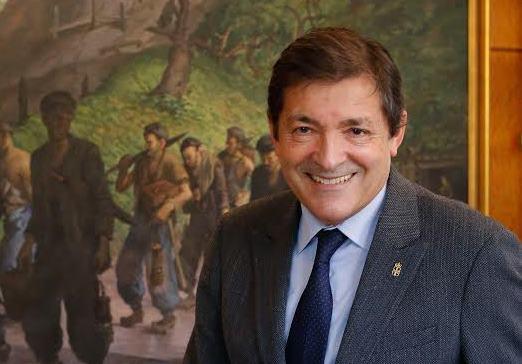 Javier Fernández, presidente del Principado de Asturias