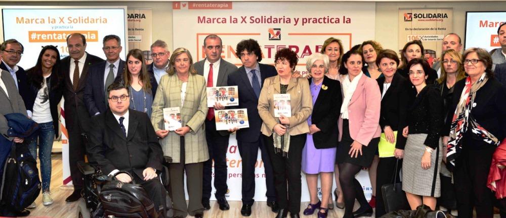 """Presentación de la campaña """"X Solidaria"""" 2017"""