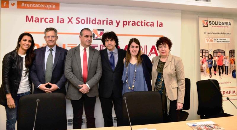 Presentación de la campaña de la X solidaria 2017
