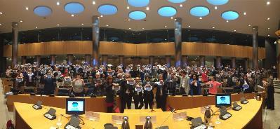 PResentación de la campaña del día mundial del autismo 2017 en un acto en el Congreso de los Diputados