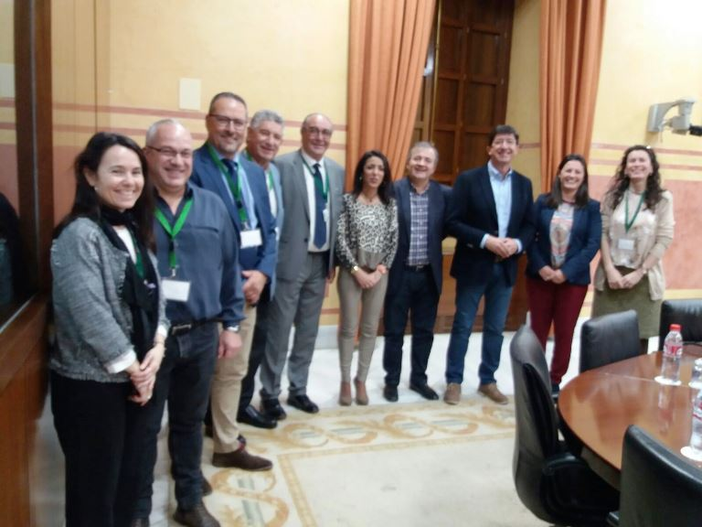 PSOE y Ciudadanos presentan a CERMI Andalucía la proposición de ley sobre atención temprana que registraron en el Parlamento